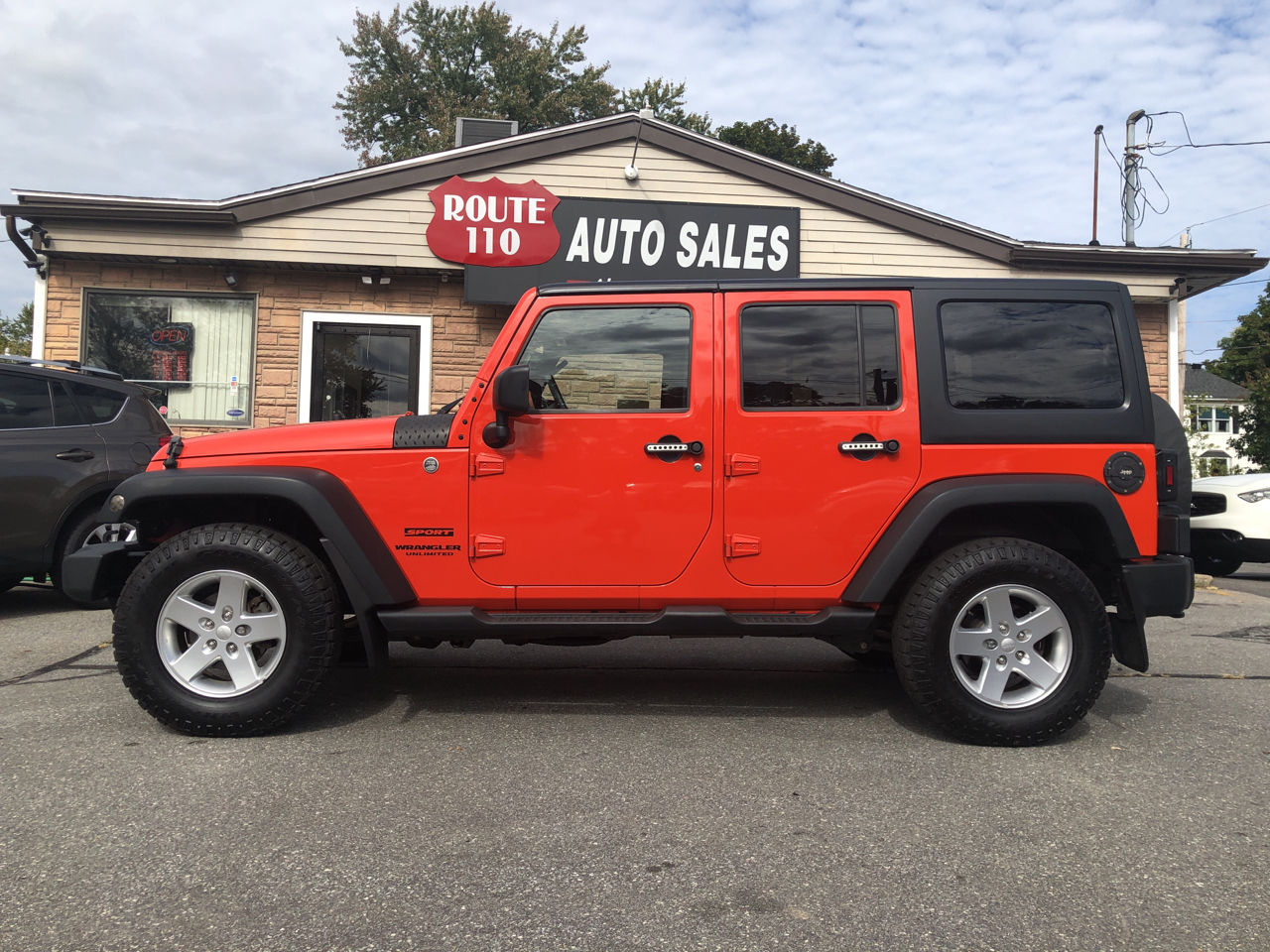 Jeep Wrangler Unlimited  2015