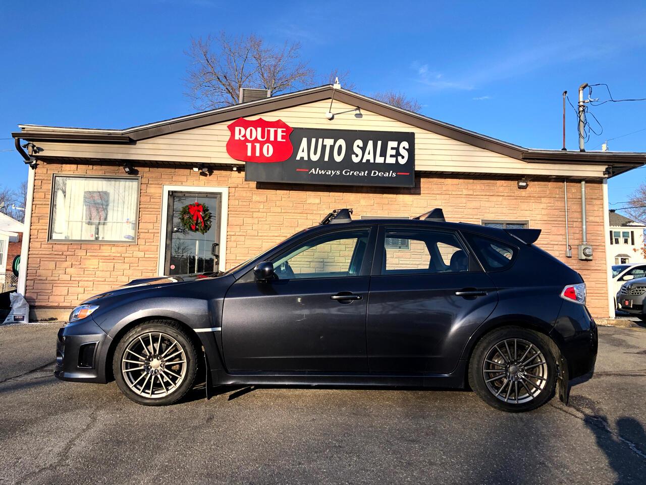 Subaru Impreza Wagon WRX 5dr Man WRX Premium 2012