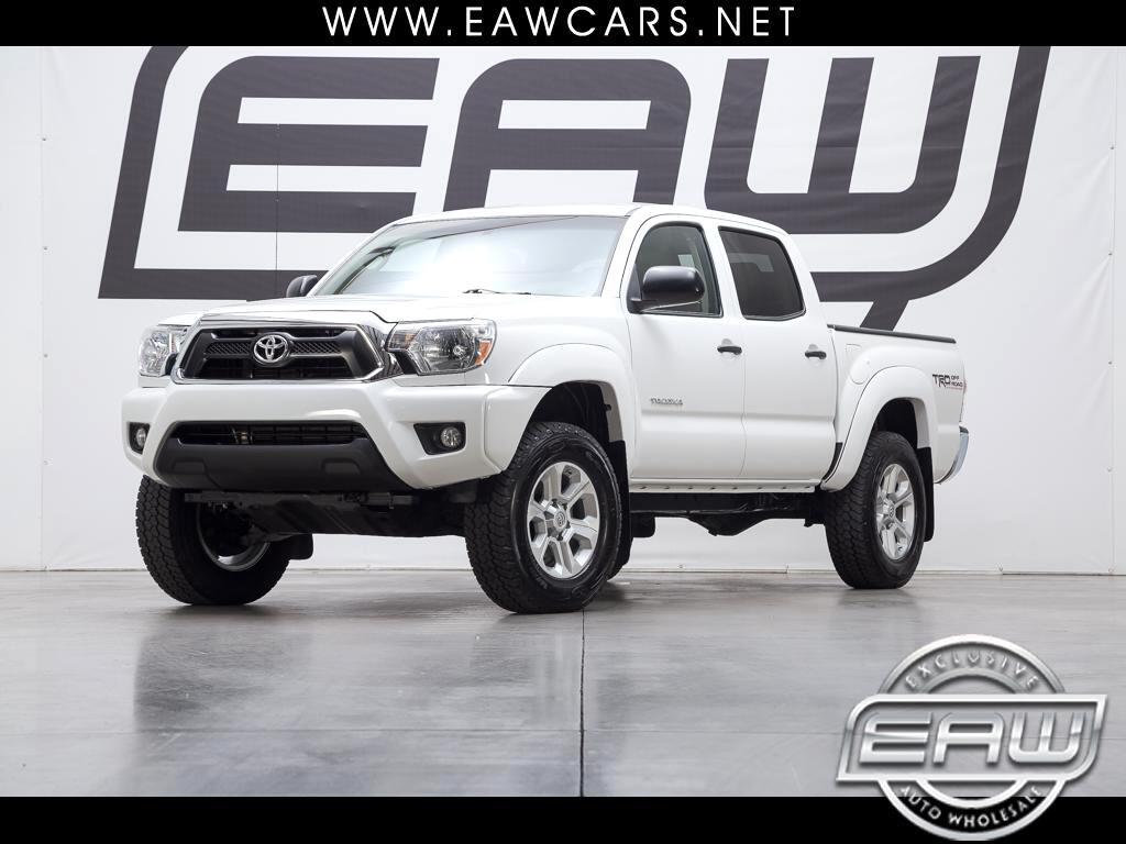 2014 Toyota Tacoma PRERUNNER SR5 DOUBLE CAB TRD OFF ROAD PACKAGE V6 A