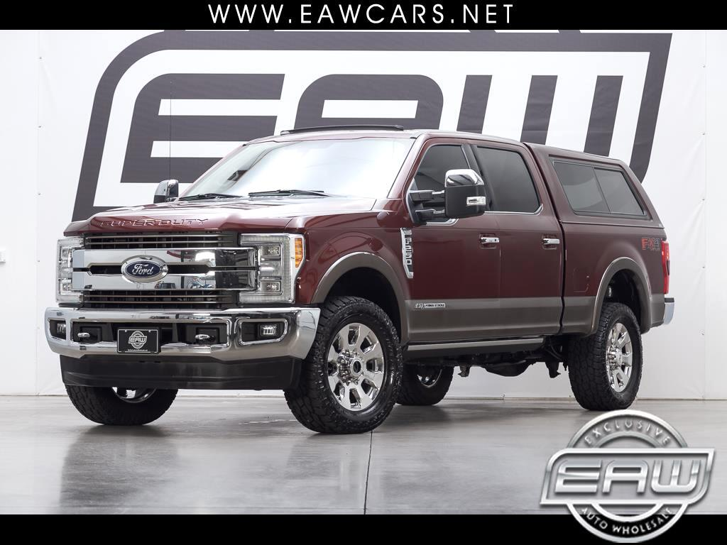2017 Ford F-250 SD King Ranch Crew Cab 4WD
