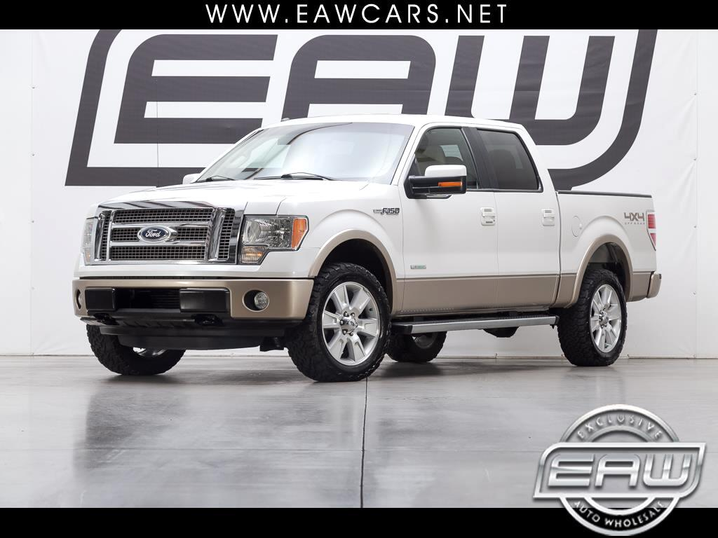 2011 Ford F-150 Lariat SuperCrew 5.5-ft. Bed 4WD