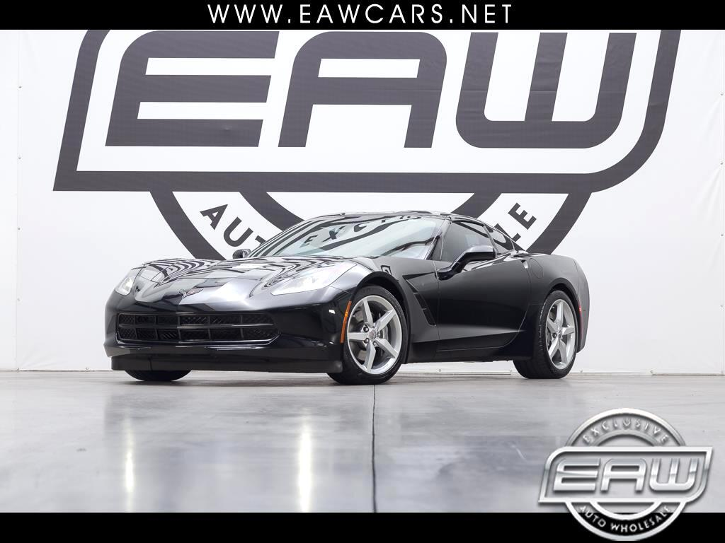 2014 Chevrolet Corvette Stingray 1LT Coupe Manual