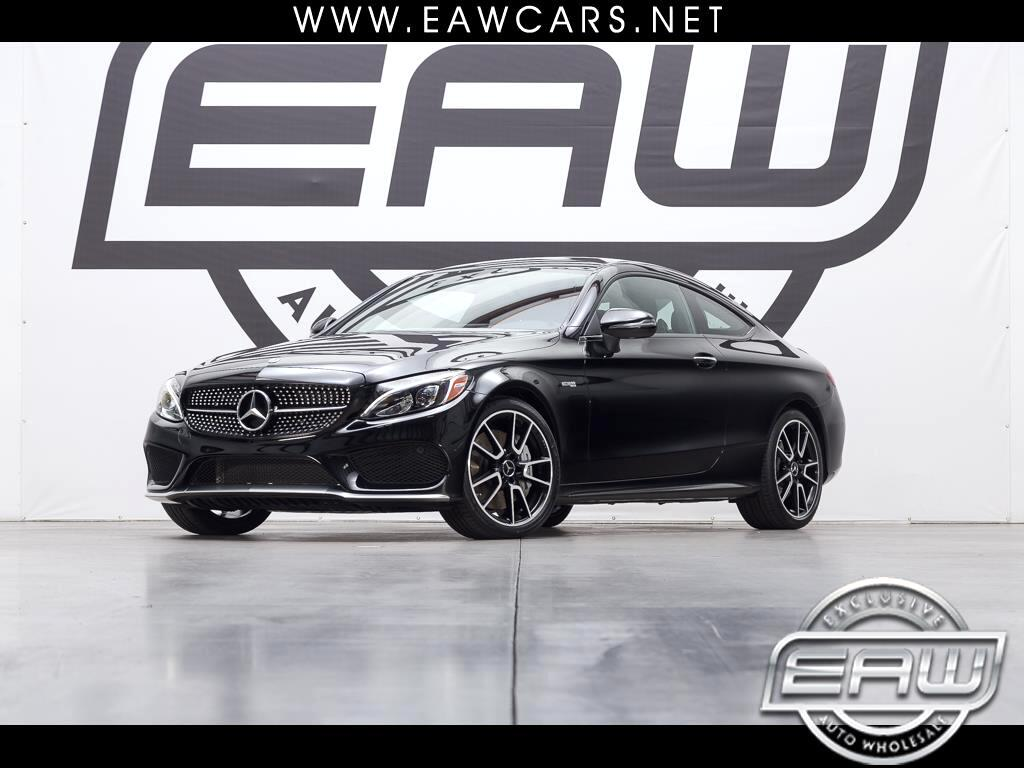 2018 Mercedes-Benz C-Class AMG C43 COUPE