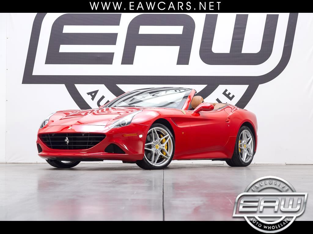 2016 Ferrari California Convertible T