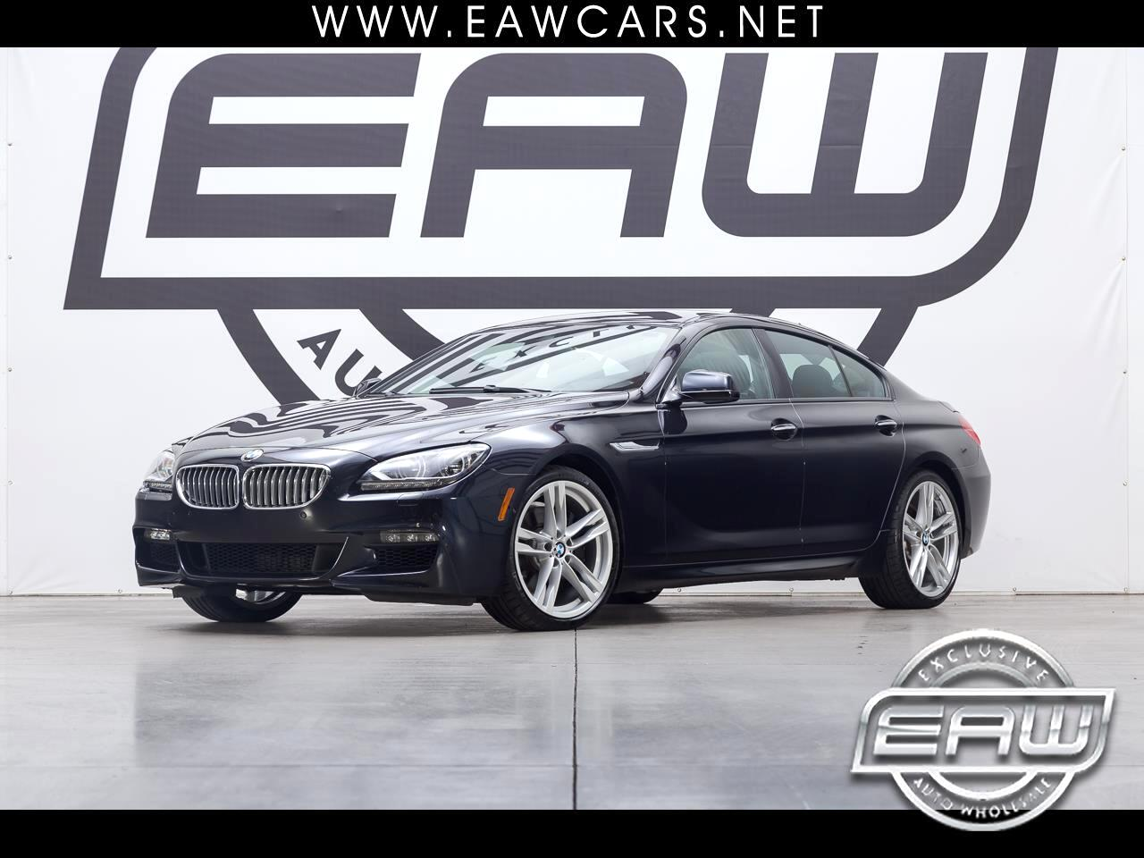 2015 BMW 6-Series Gran Coupe 650i M-Sport