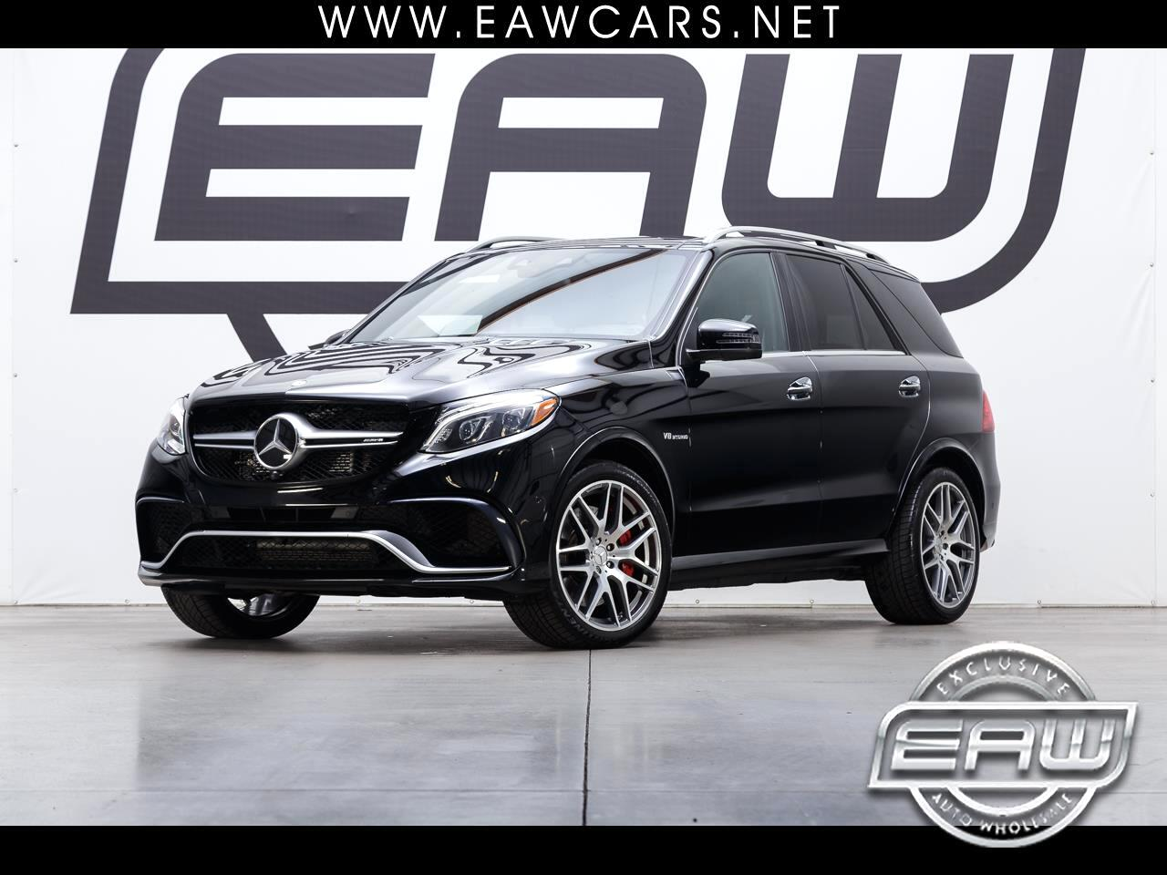 2016 Mercedes-Benz GLE Class GLE63S AMG 4MATIC