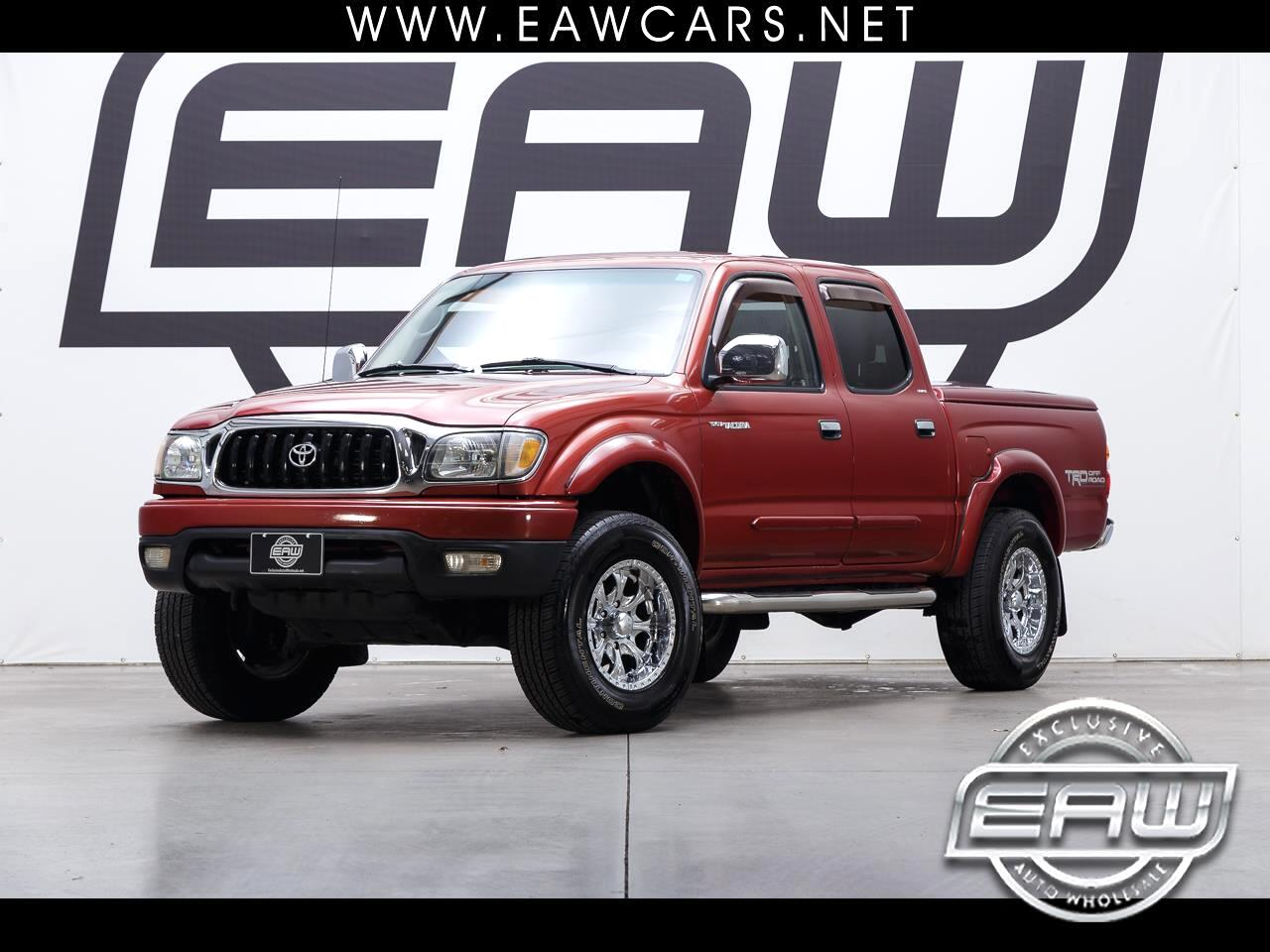2002 Toyota Tacoma LIMITED DOUBLE CAB PRERUNNER SR5 V6
