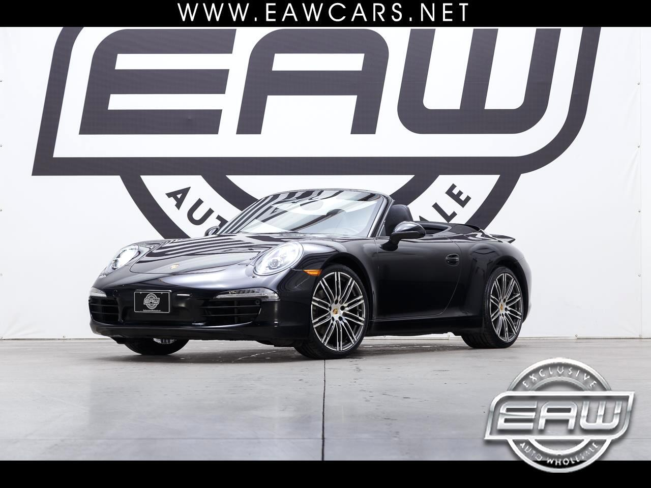 2016 Porsche 911 Carrera Cabriolet Black Edition