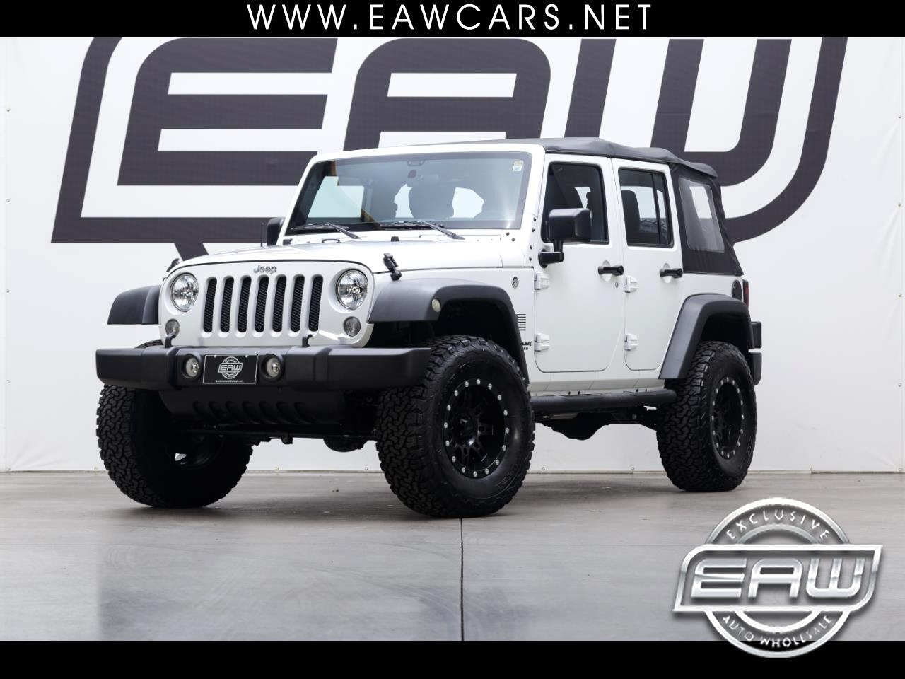 2017 Jeep Wrangler Unlimited Sport 4WD