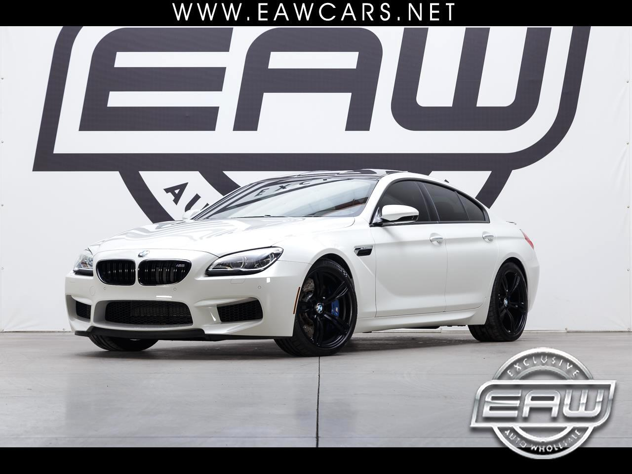 2018 BMW M6 M6 GRAN COUPE 4 DOOR COUPE 4.4L V8 TWIN TURBO