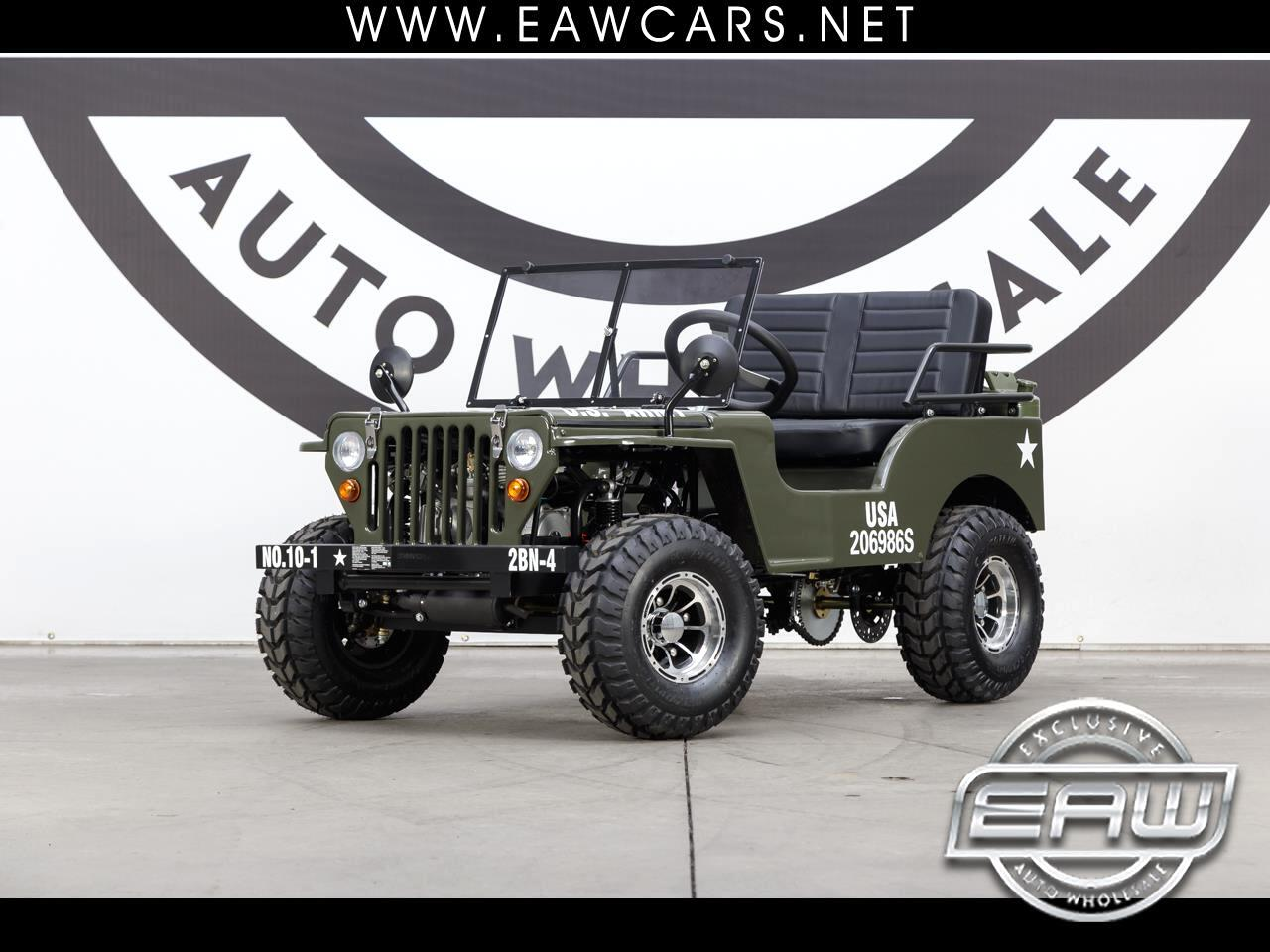 2019 Ice Bear PAZ125-1 ARMY JEEP