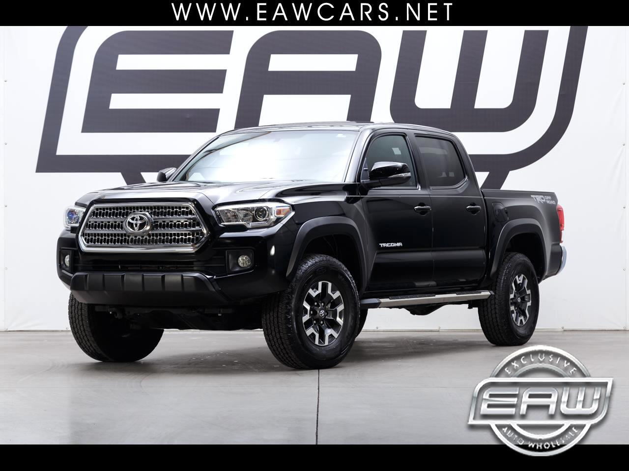2017 Toyota Tacoma DOUBLE CAB TRD OFFROAD V6