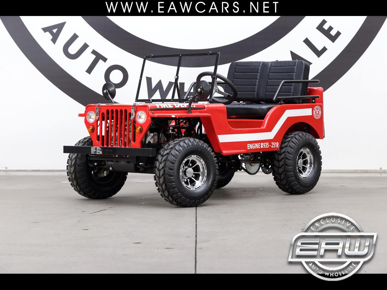2019 Ice Bear PAZ125-1 FIRE ENGINE RED