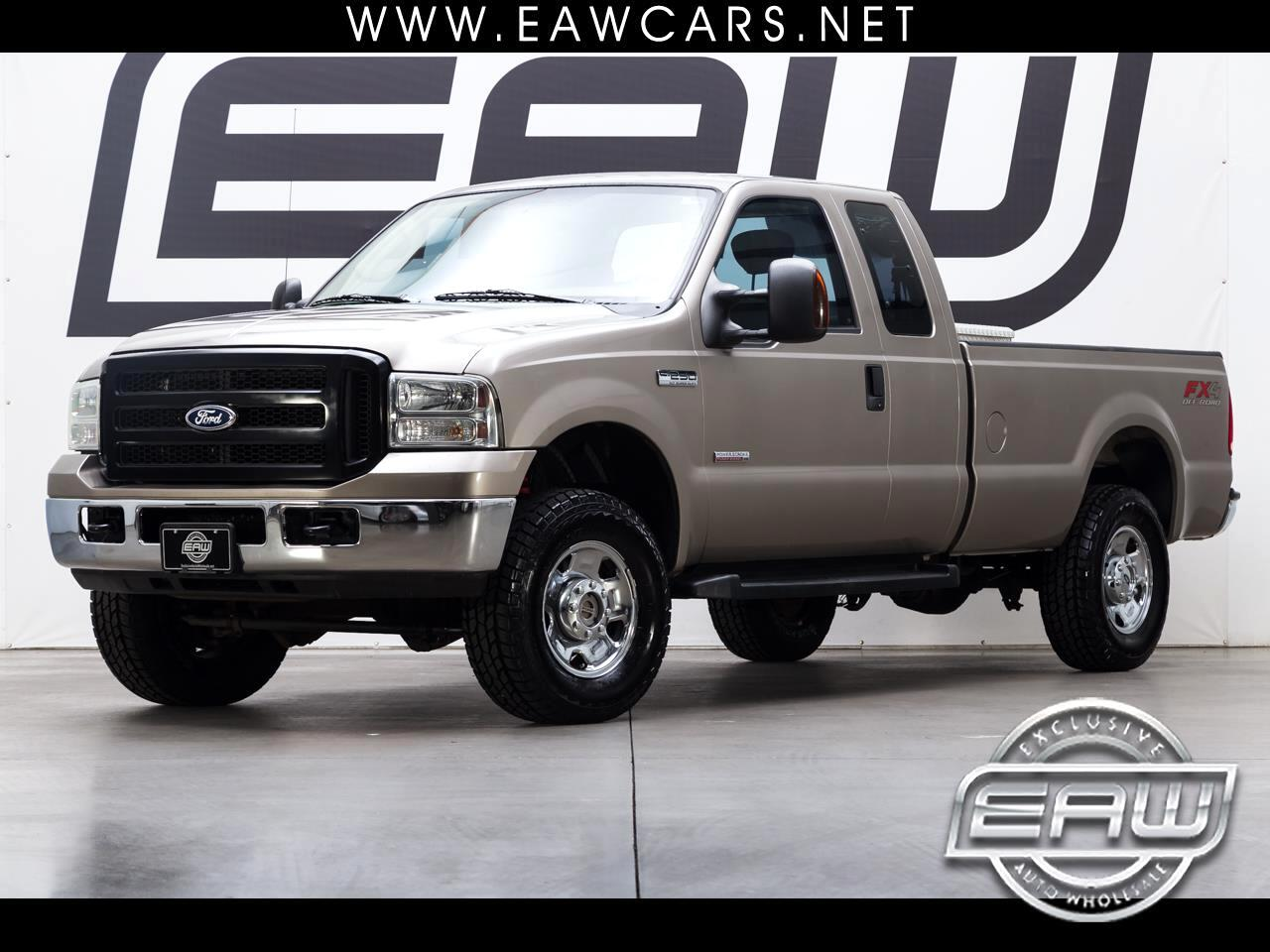 2006 Ford F-250 SD XLT SuperCab LWB 4WD