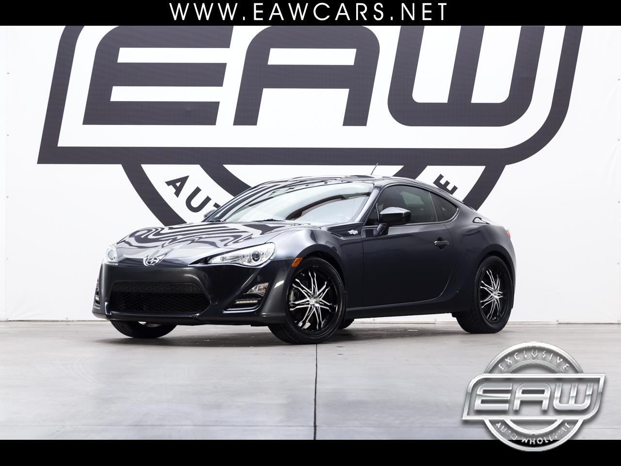 2013 Scion FR-S COUPE 6-SPEED MANUAL