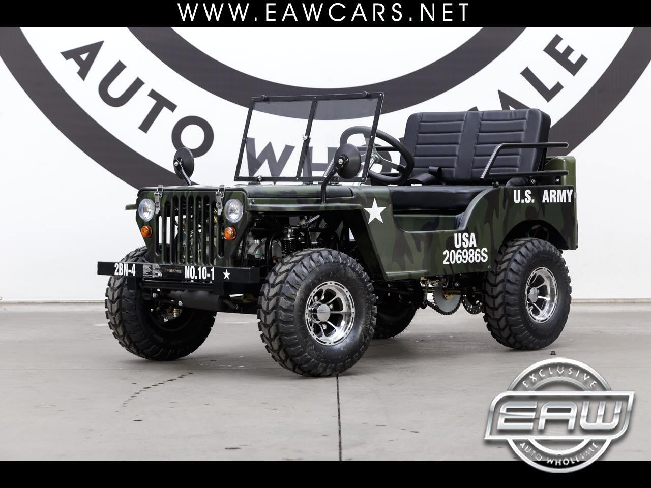 2019 Ice Bear PAZ125-1 CAMO ARMY JEEP