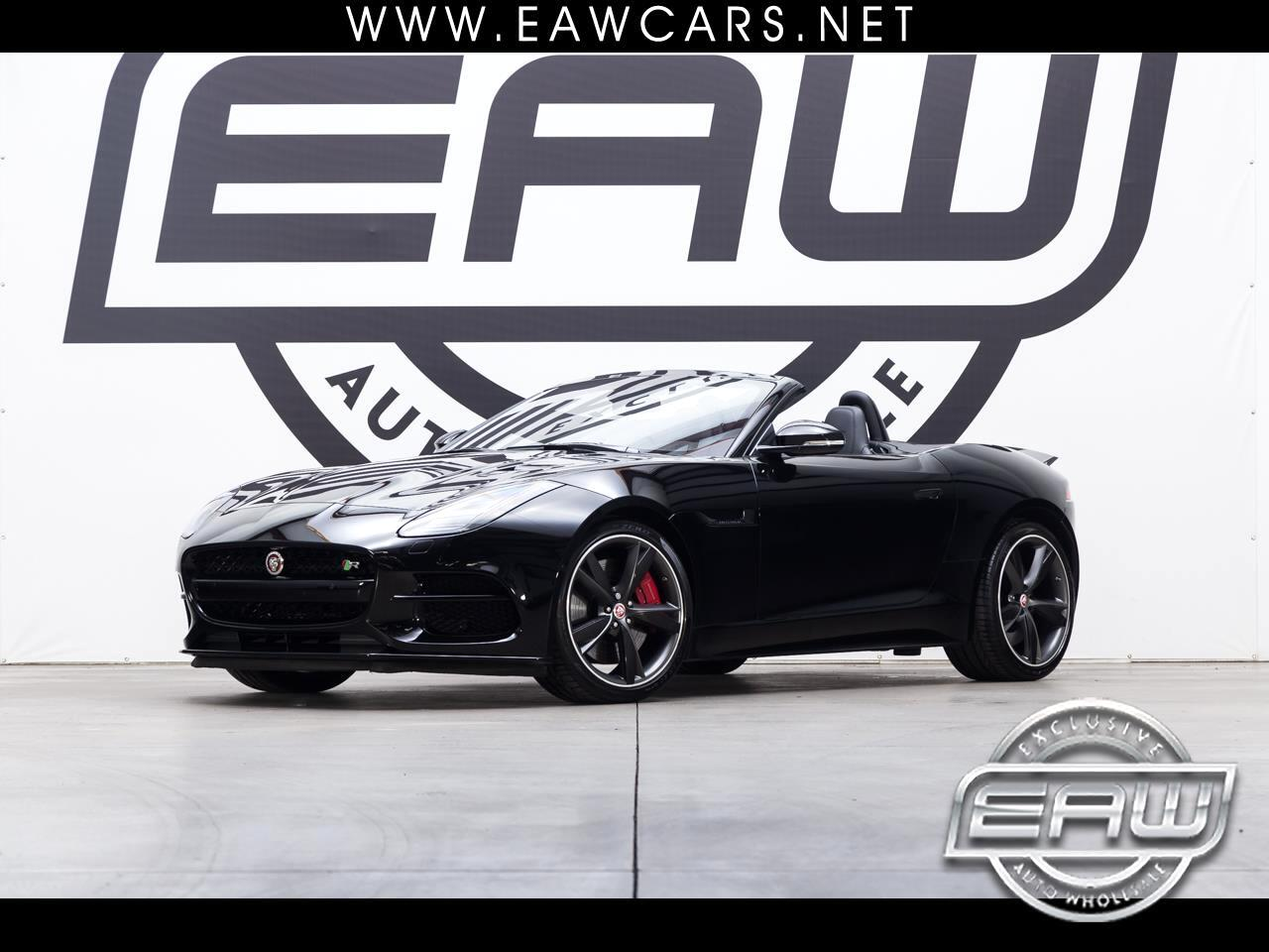 2018 Jaguar F-Type R CONVERTIBLE AWD