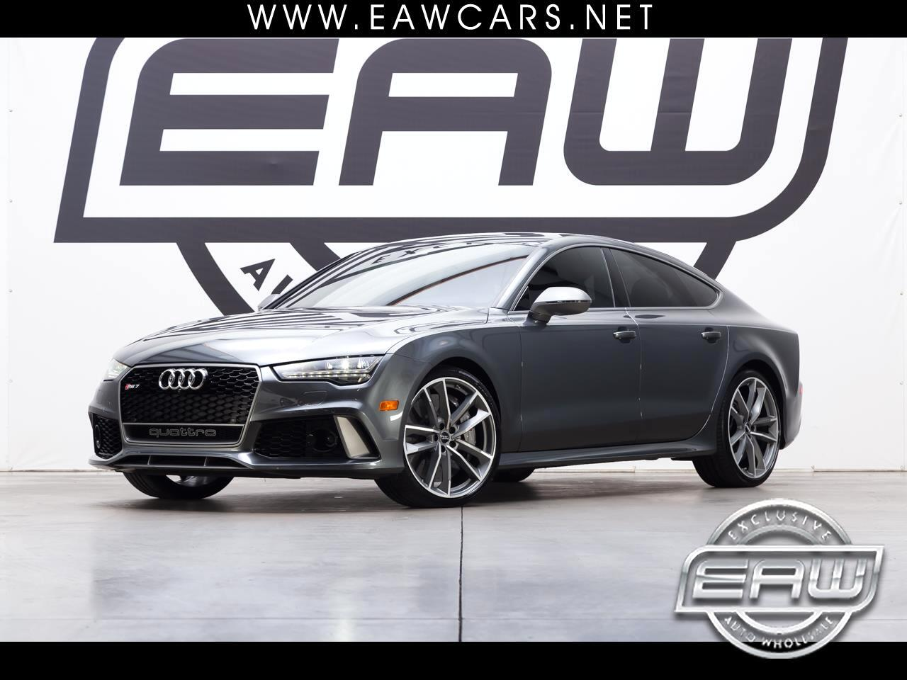 2017 Audi RS7 PERFORMANCE 4.0T QUATTRO TITANIUM EDITION *1 OF 50