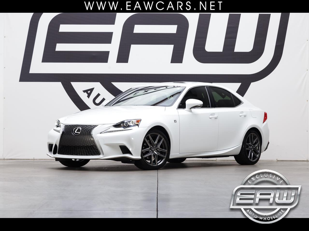 2014 Lexus IS IS 250 F SPORT RWD
