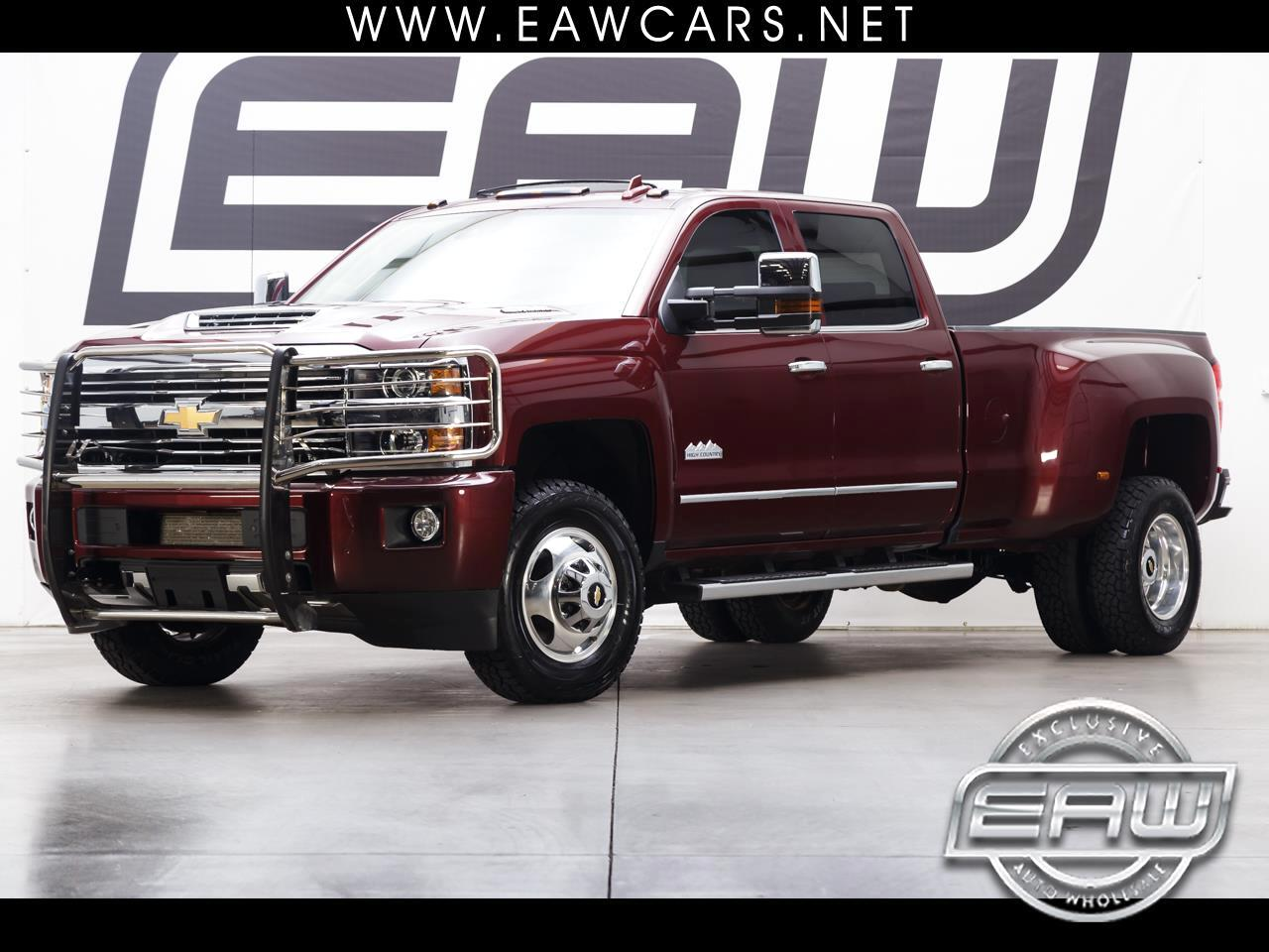 2017 Chevrolet Silverado 3500HD HIGH COUNTRY CREW CAB 4WD DRW
