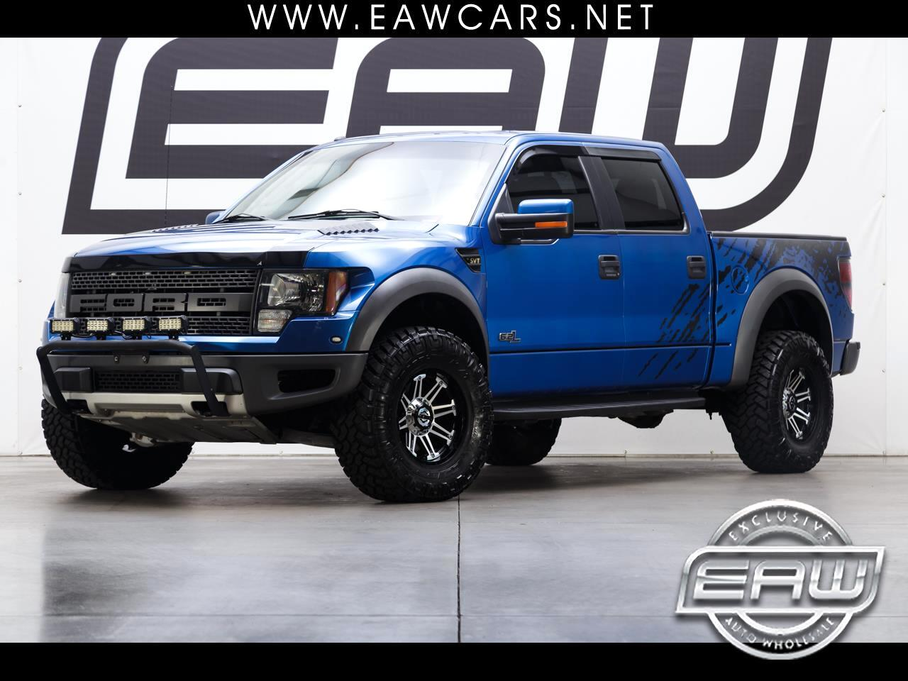 2011 Ford F-150 RAPTOR SUPERCREW 4WD