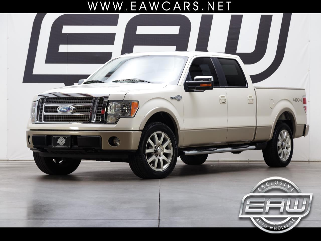2009 Ford F-150 KING RANCH SUPERCREW 4WD LONG BED
