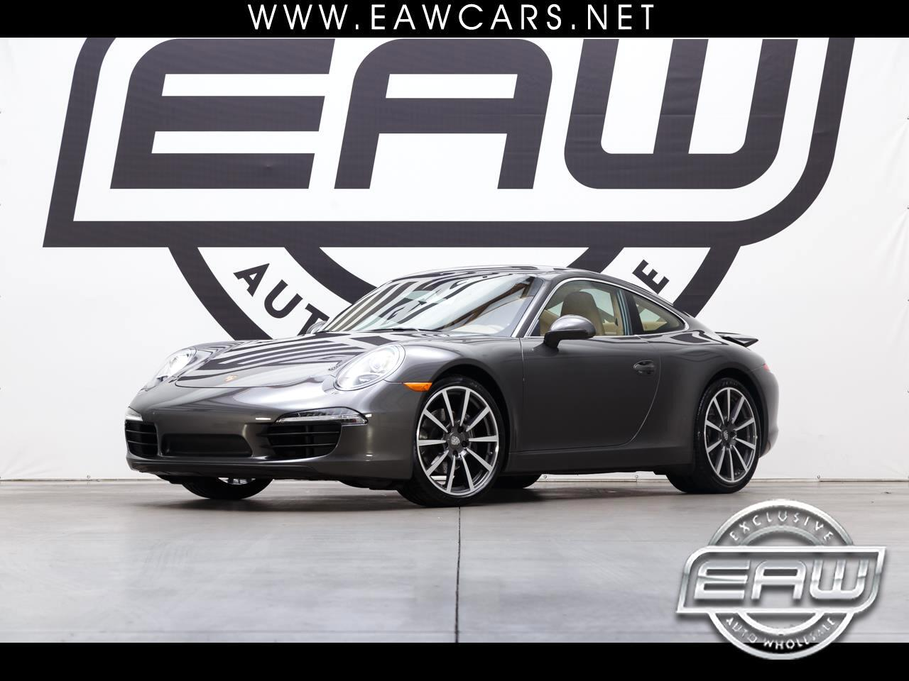2016 Porsche 911 CARRERA COUPE