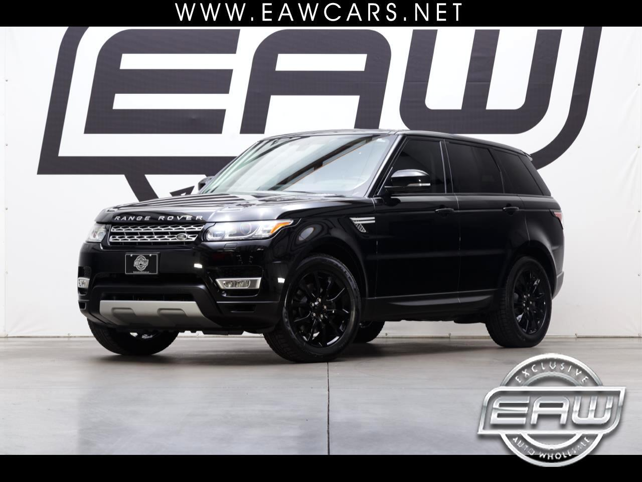 2015 Land Rover Range Rover Sport HSE 4WD SUPERCHARGED
