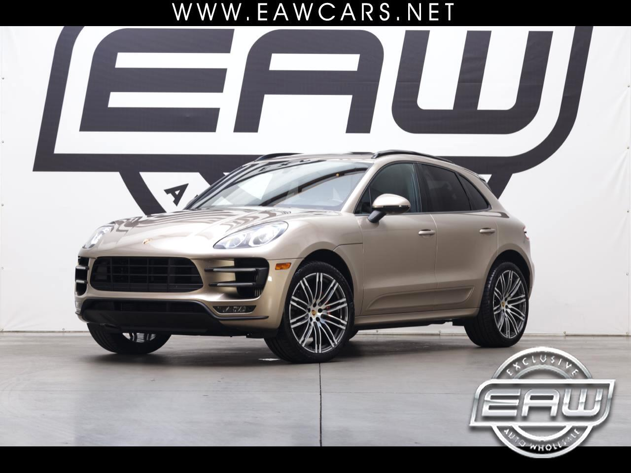 2015 Porsche Macan TURBO AWD