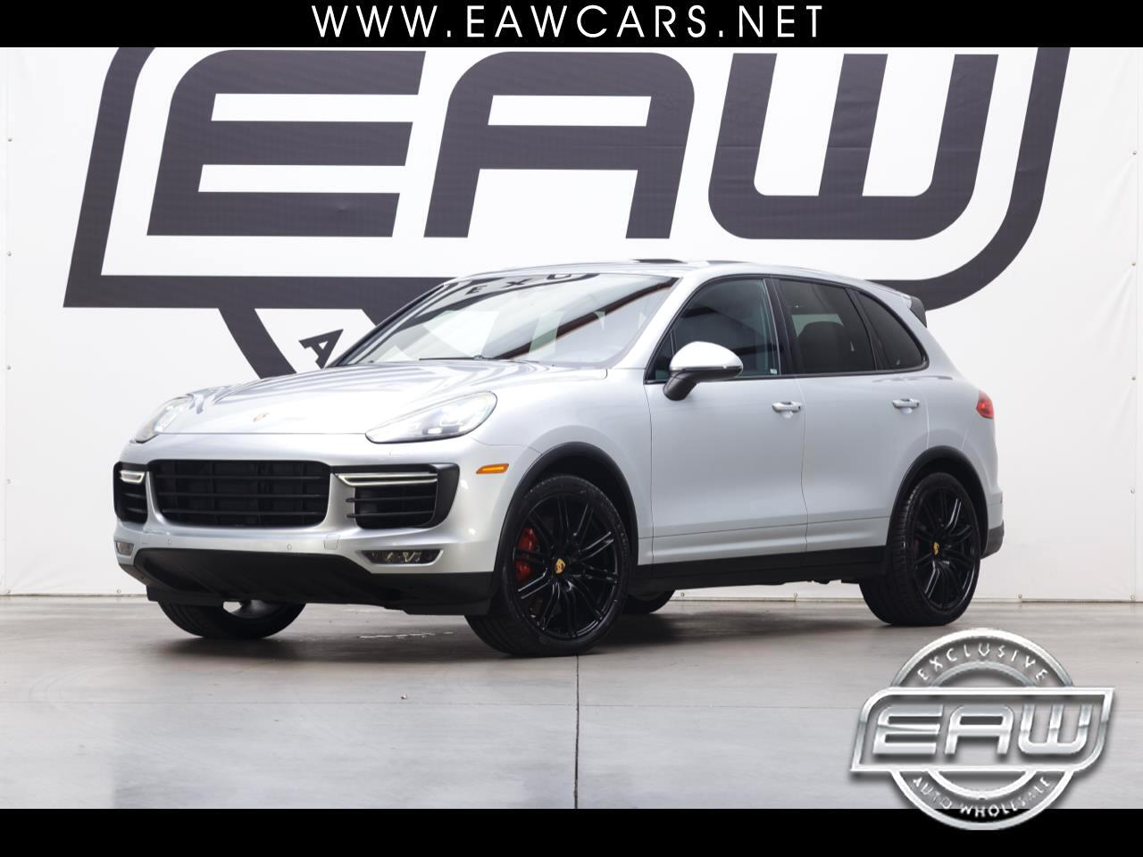 2016 Porsche Cayenne TURBO AWD