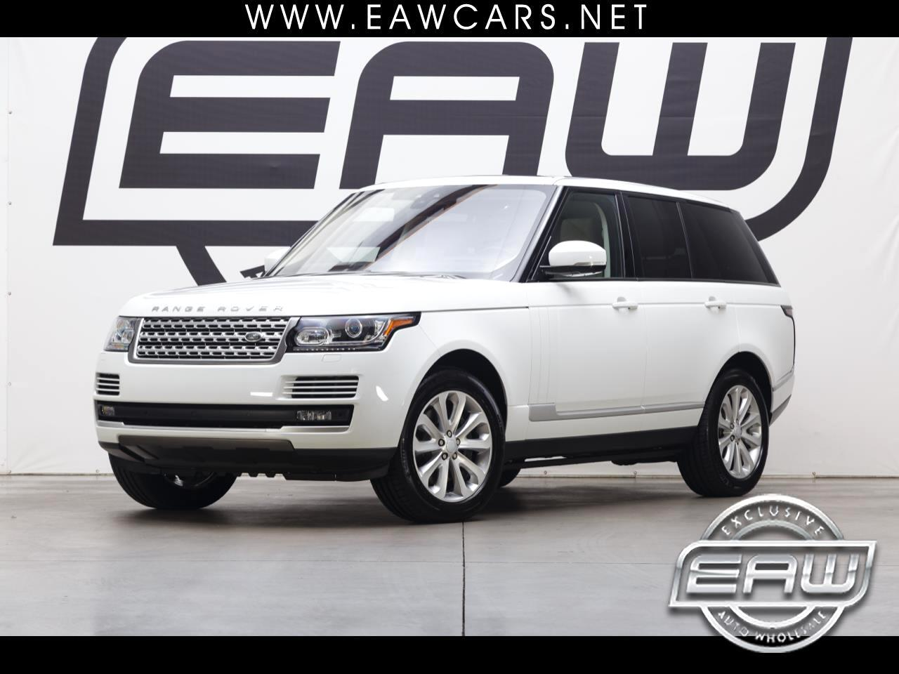 2017 Land Rover Range Rover HSE V6 SUPERCHARGED
