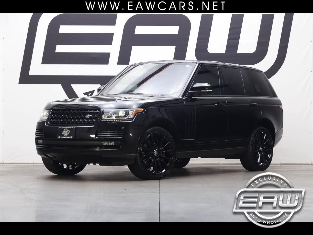 2015 Land Rover Range Rover SUPERCHARGED AWD