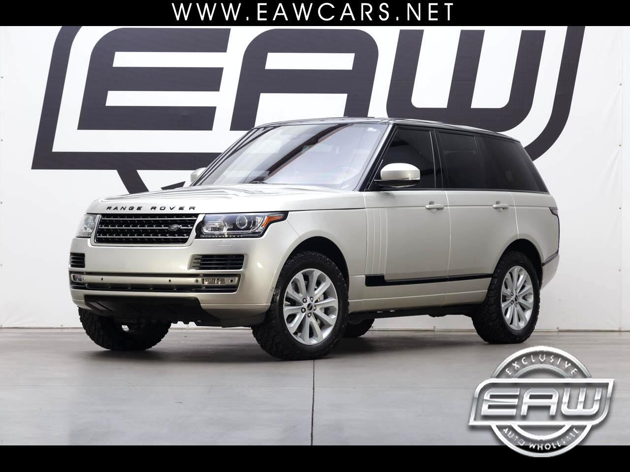 2013 Land Rover Range Rover SUPERCHARGED V8 4WD