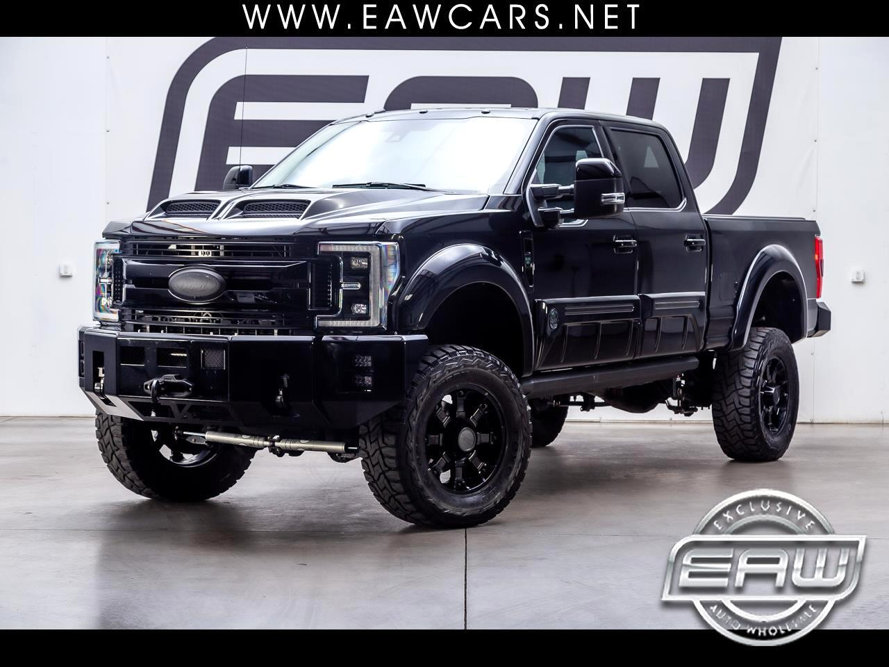 2017 Ford Super Duty F-250 SRW LARIAT SUPERCREW 4WD BLACK OPS EDITION