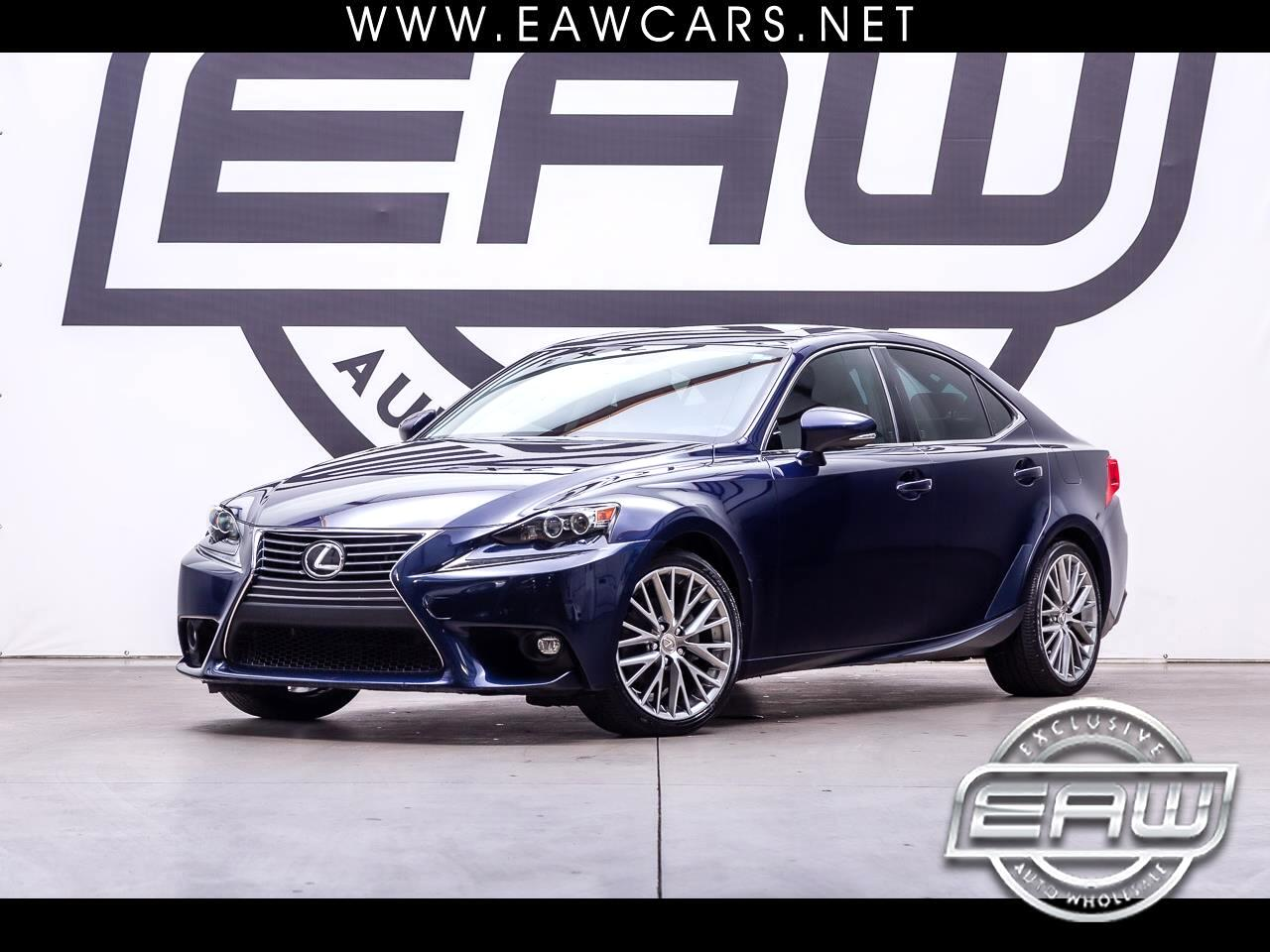Lexus IS 250 4dr Sport Sdn RWD 2015