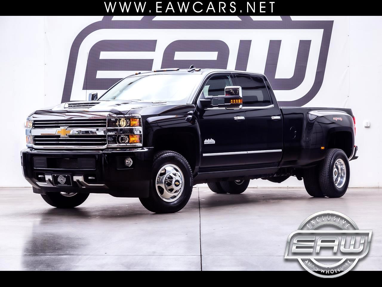 2017 Chevrolet Silverado 3500HD High Country CrewCab 4WD DRW