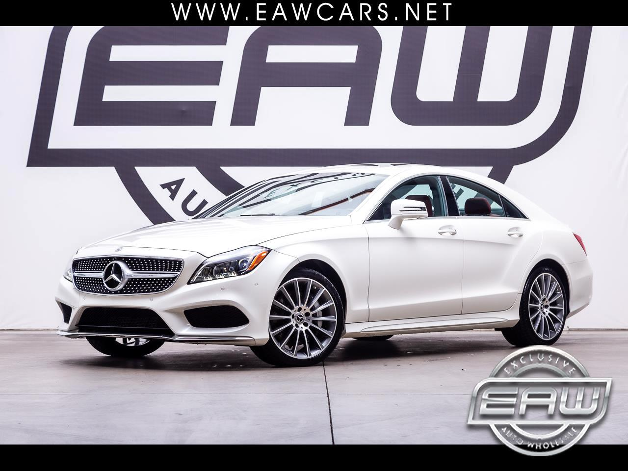 2018 Mercedes-Benz CLS CLS550 4dr Coupe