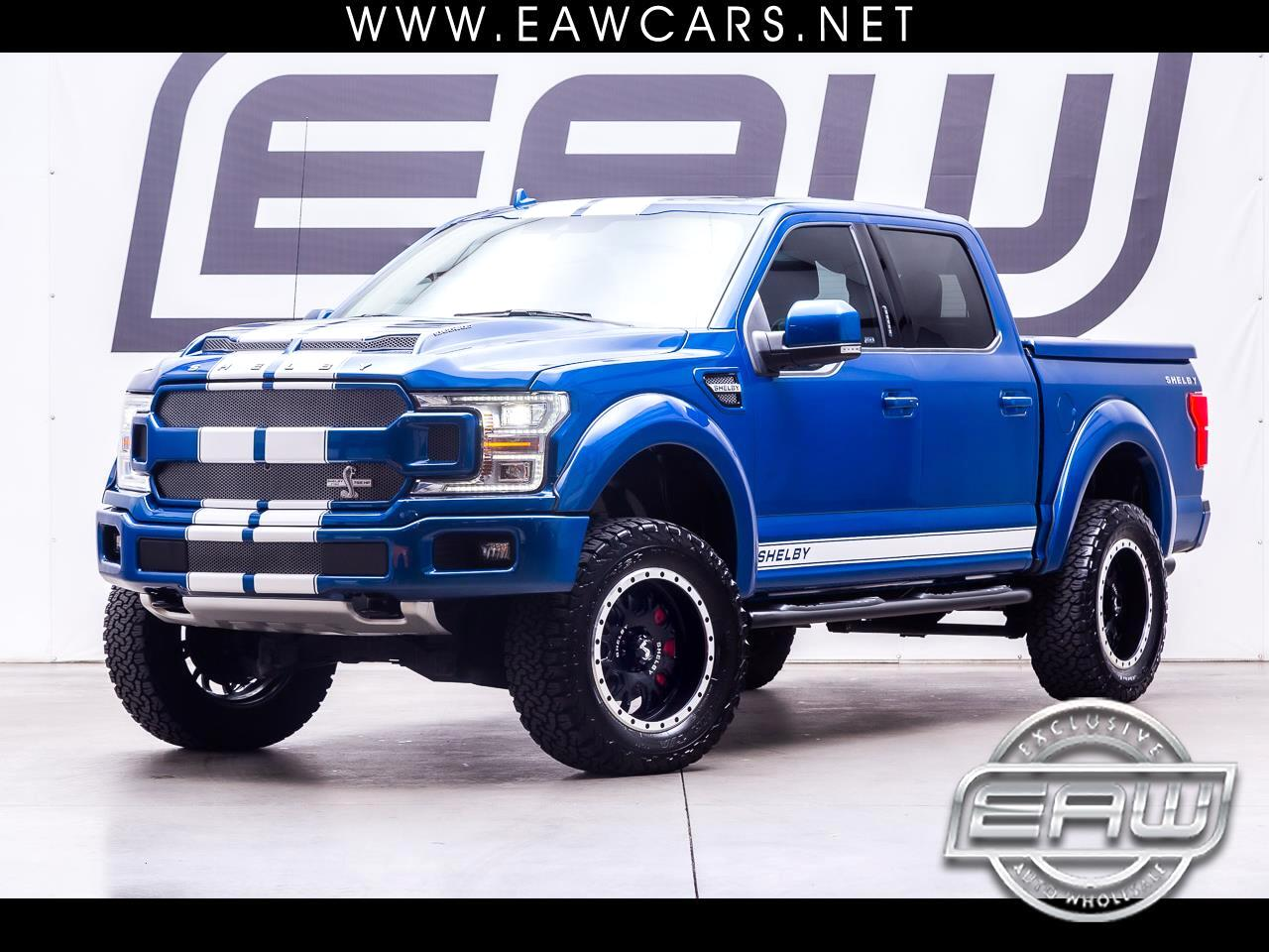 "2018 Ford F-150 4WD Supercrew 145"" Shelby"