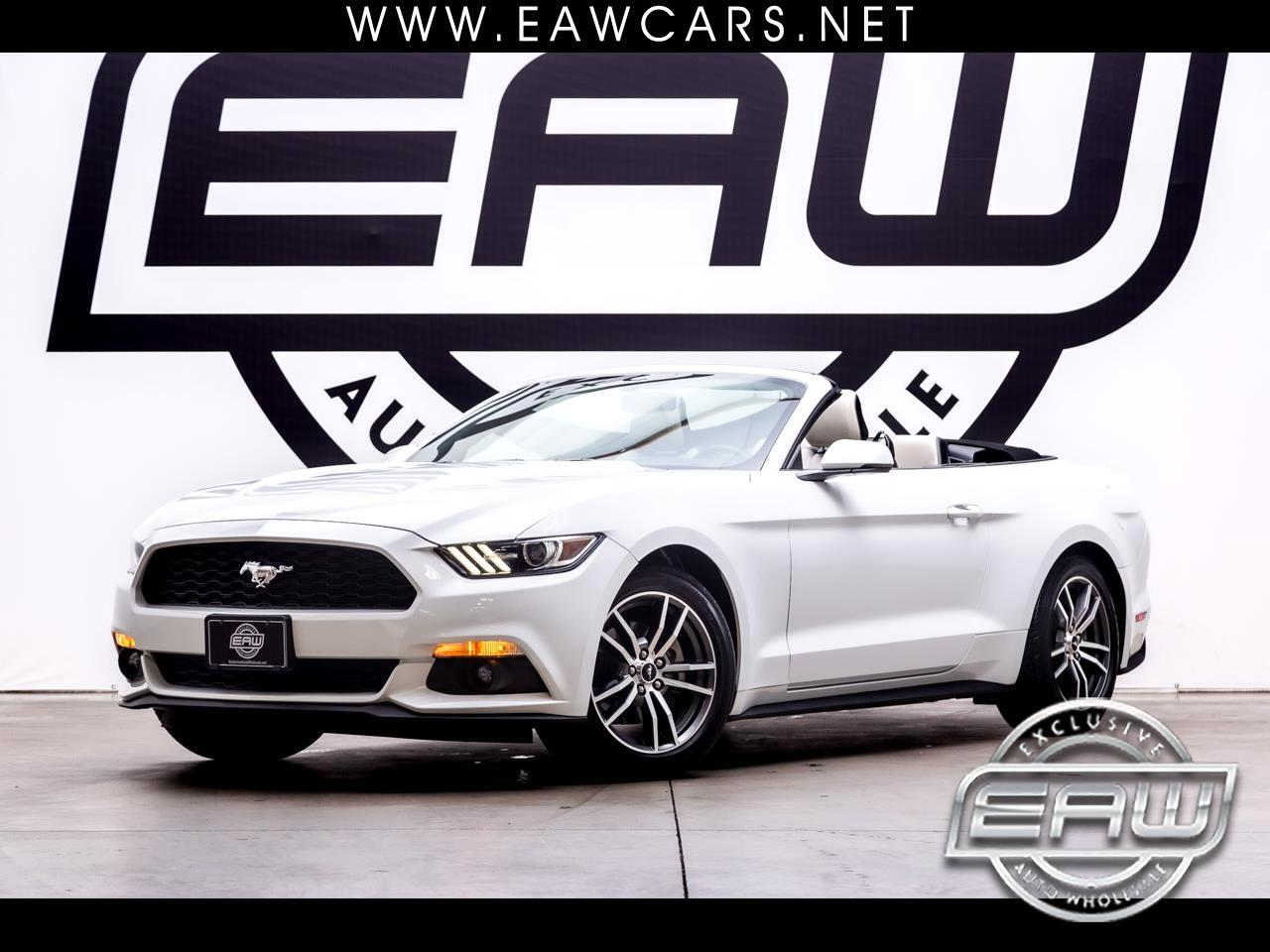 Ford Mustang EcoBoost Premium Convertible 2017