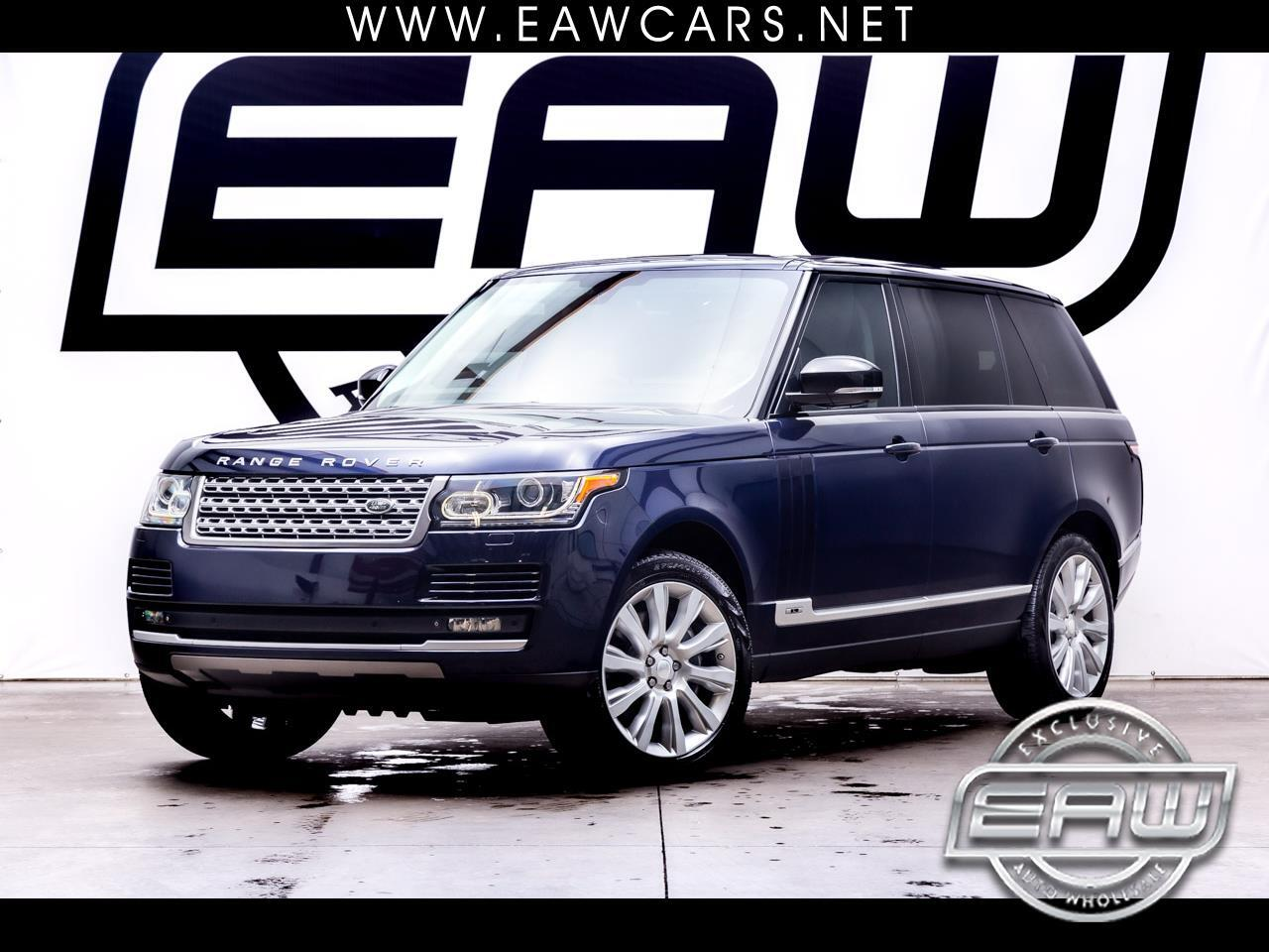 Land Rover Range Rover 4WD 4dr Supercharged LWB 2014