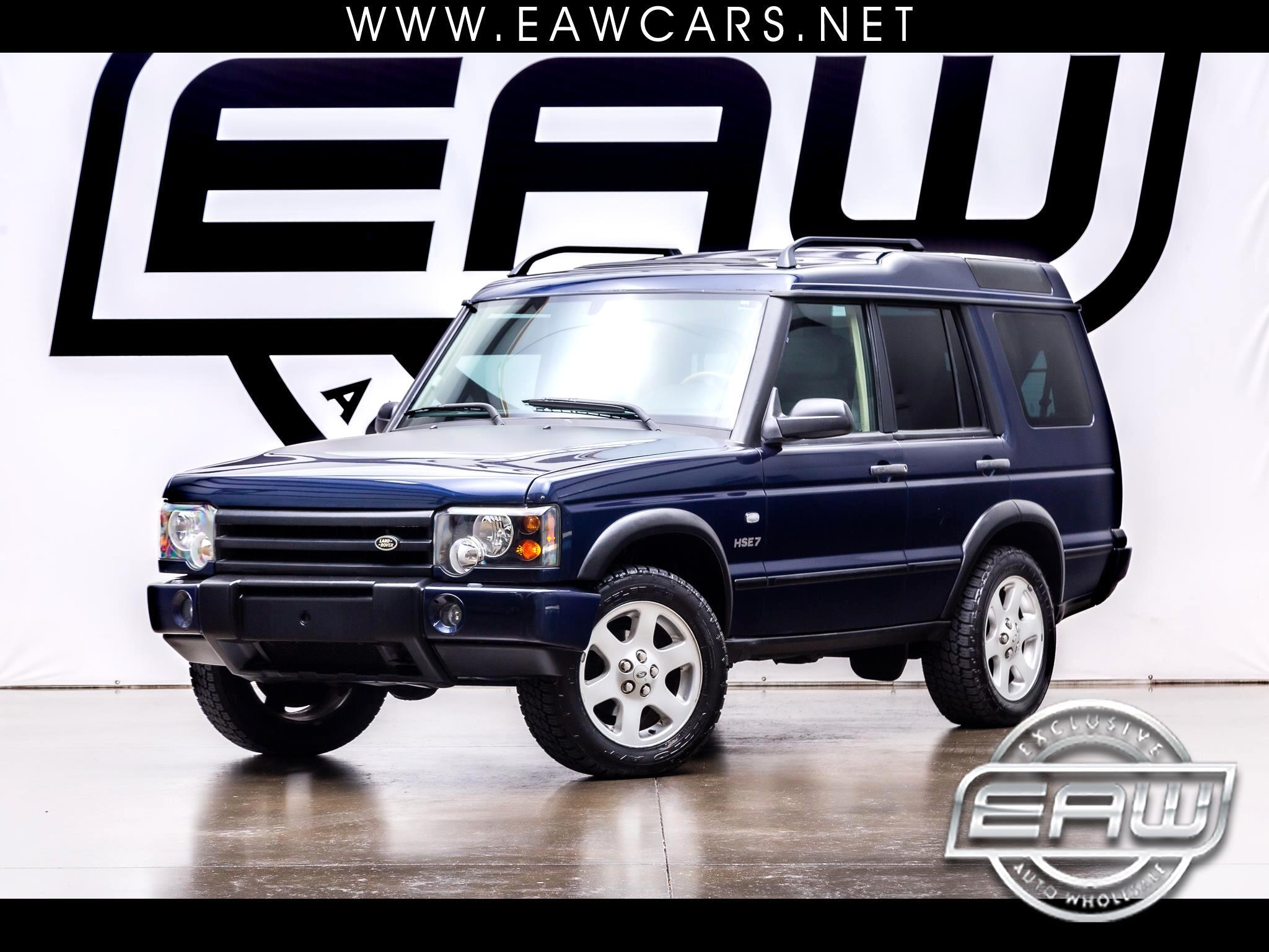 Land Rover Discovery 4dr Wgn HSE 2003