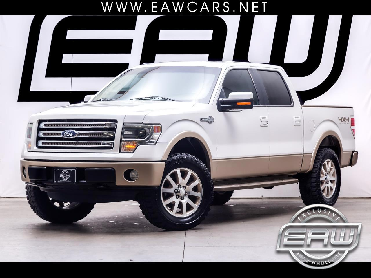 Ford F-150 King Ranch SuperCrew 4WD 2014