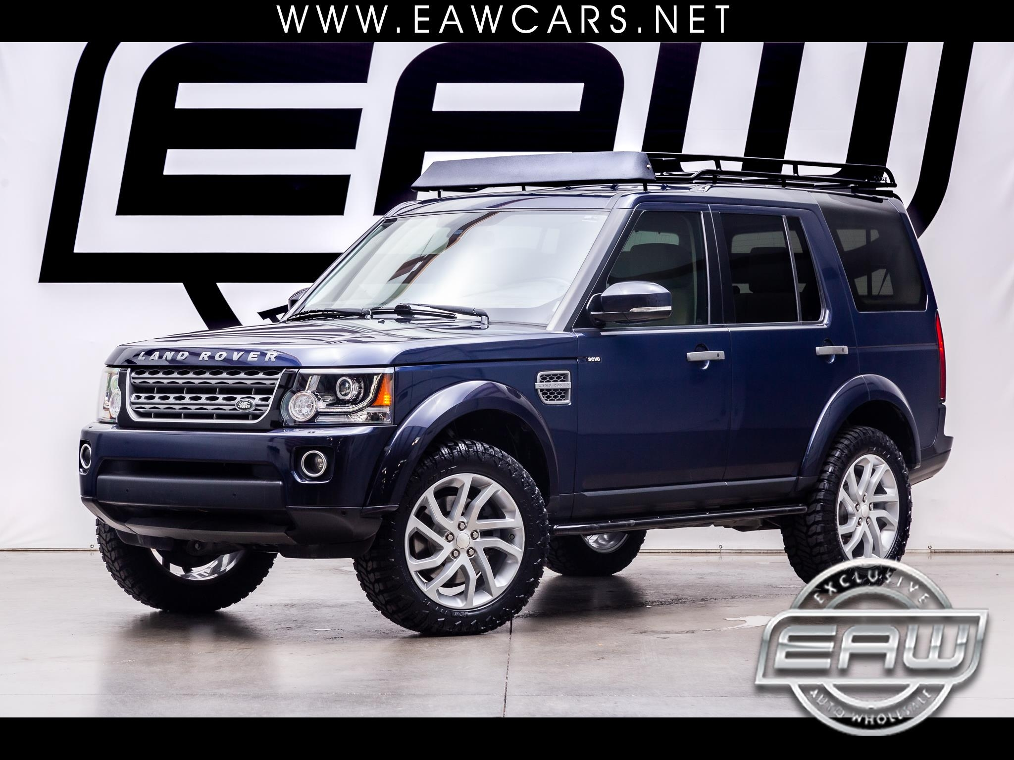 Land Rover LR4 4WD 4dr HSE 2014