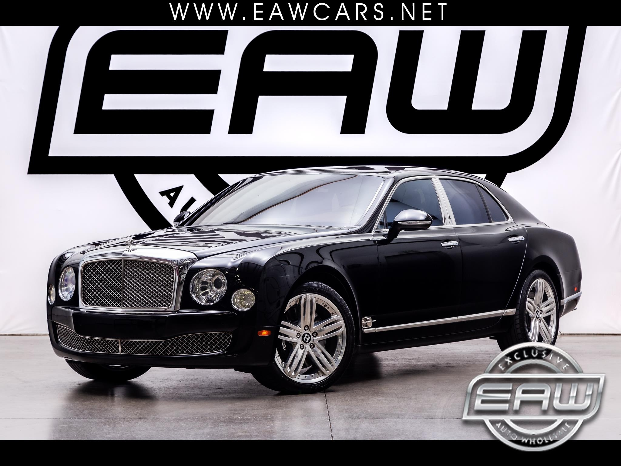 Bentley Mulsanne 4dr Sdn 2012