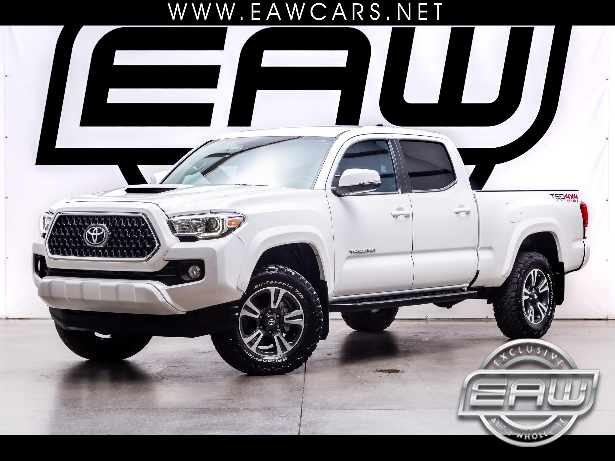 Toyota Tacoma 4WD Double Cab LB V6 AT TRD Sport (Natl) 2018