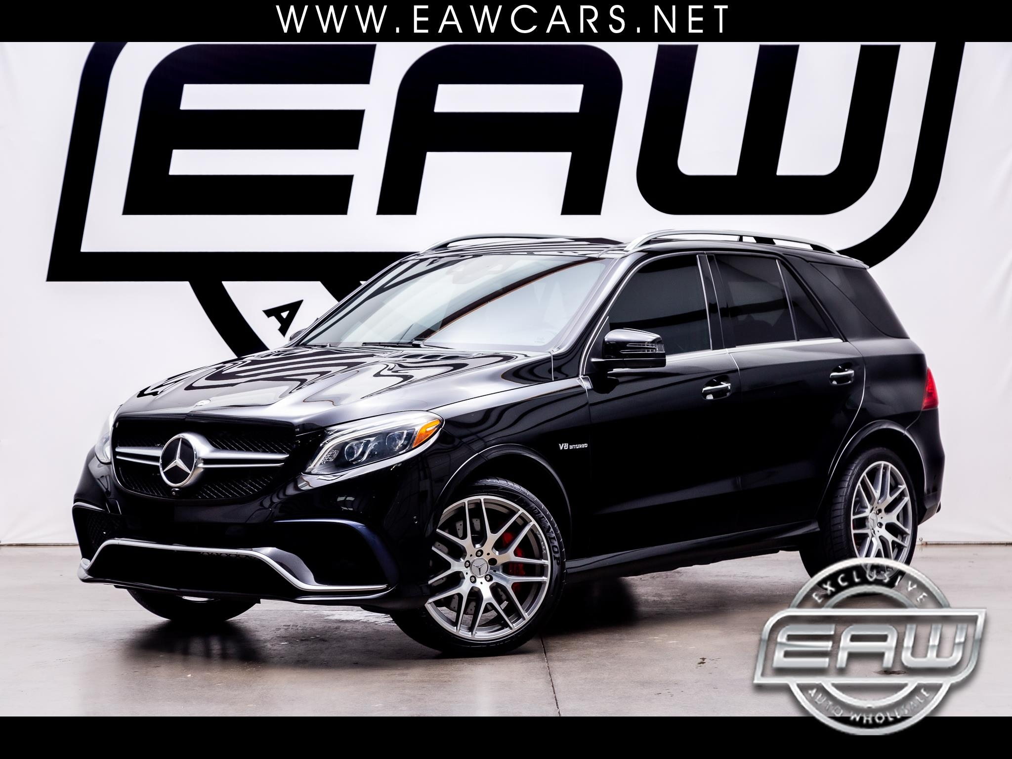 Mercedes-Benz GLE 4MATIC 4dr AMG GLE 63 S-Model 2016