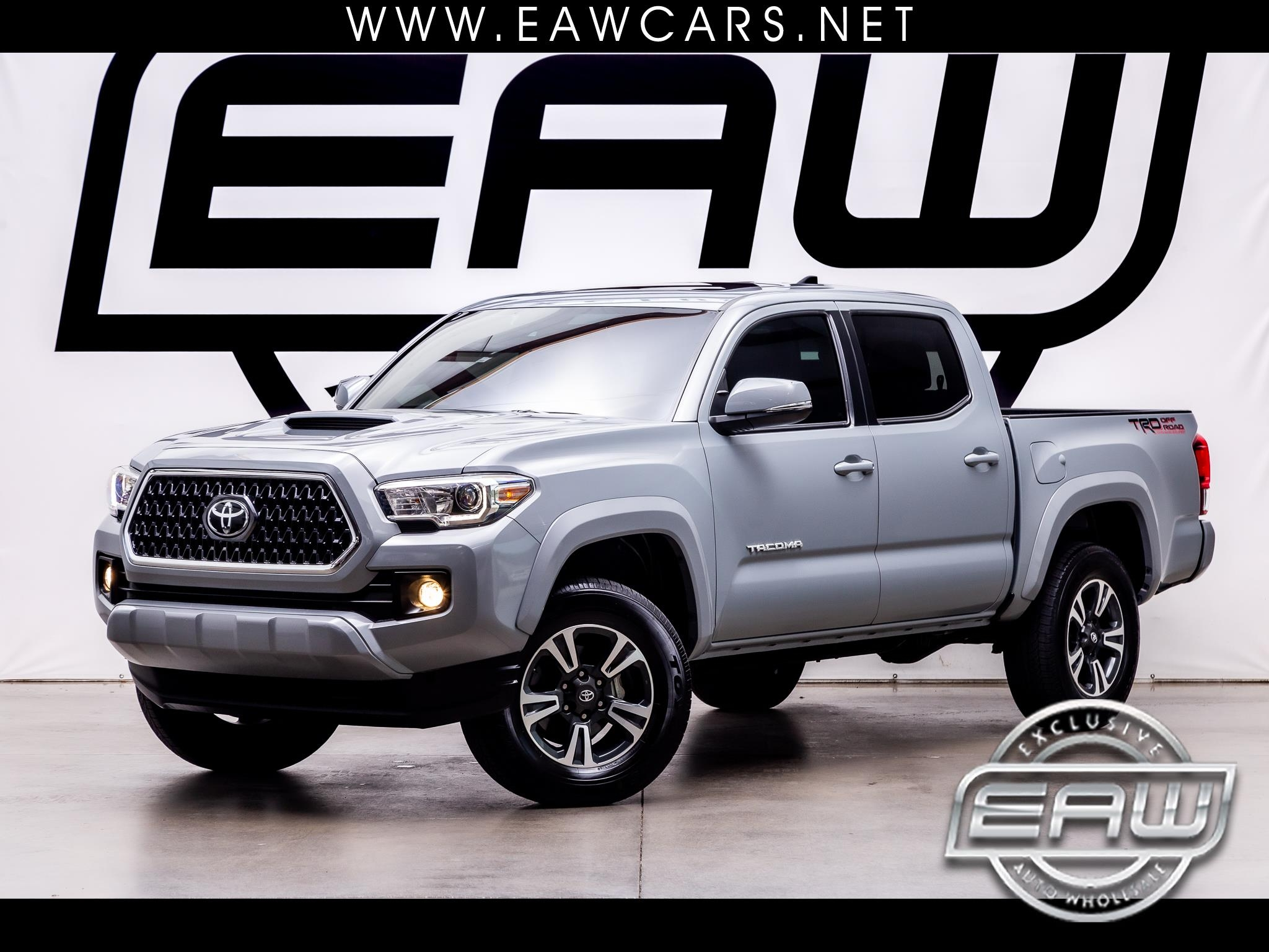 Toyota Tacoma 4WD Double Cab V6 MT TRD Sport (Natl) 2018