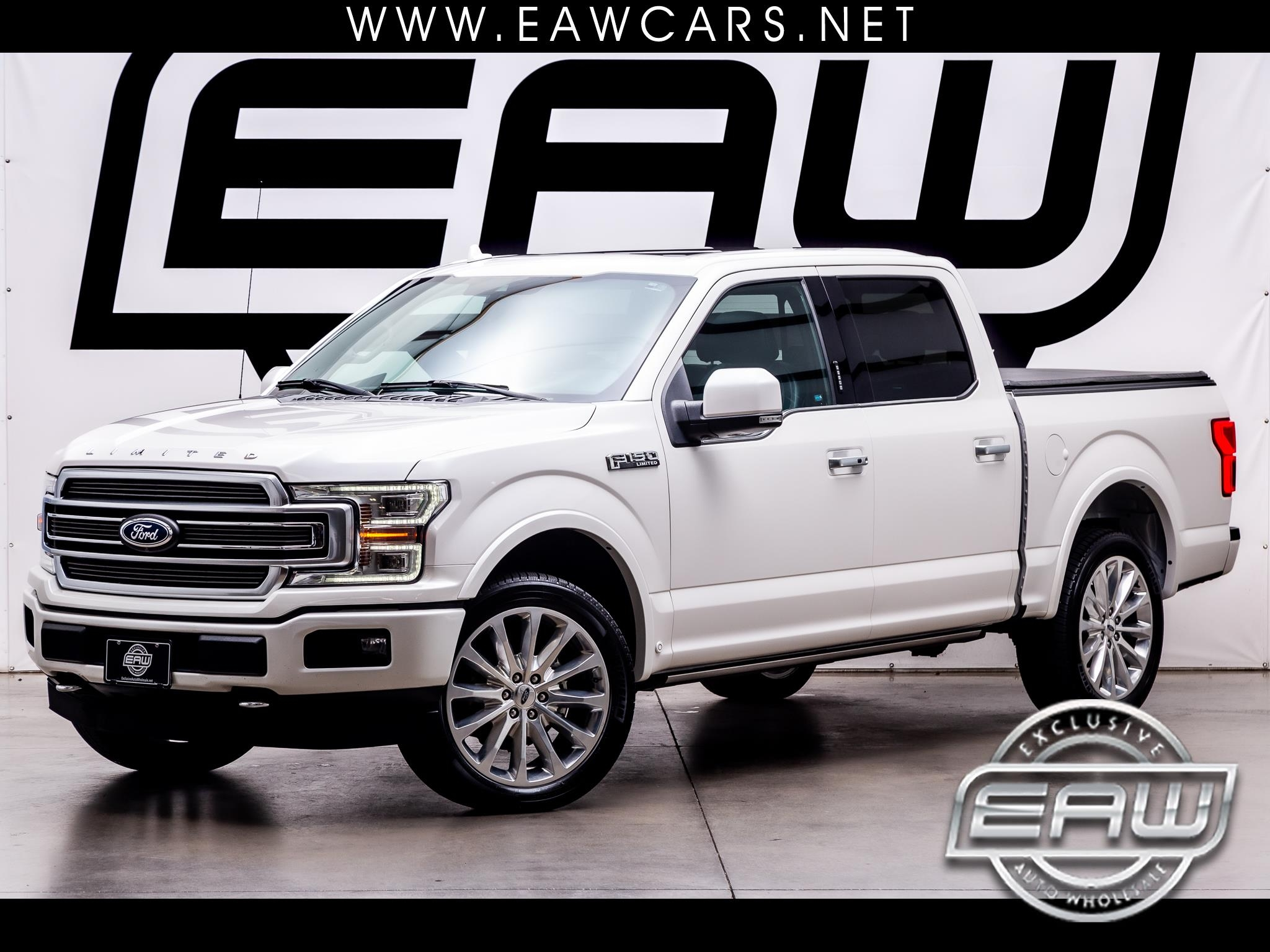 "Ford F-150 4WD SuperCrew 145"" Limited 2018"