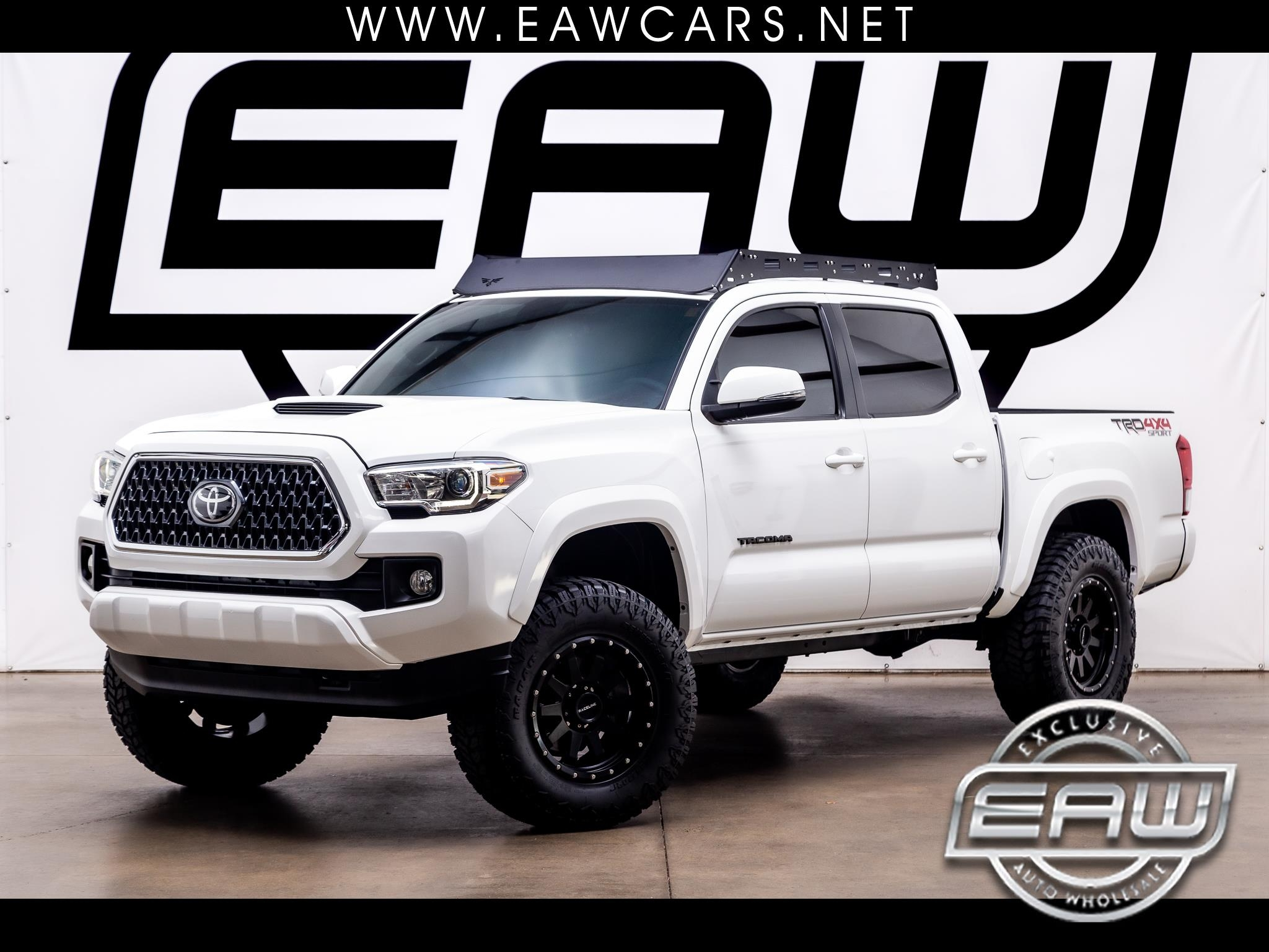 Toyota Tacoma 4WD Double Cab V6 AT TRD Sport (Natl) 2019