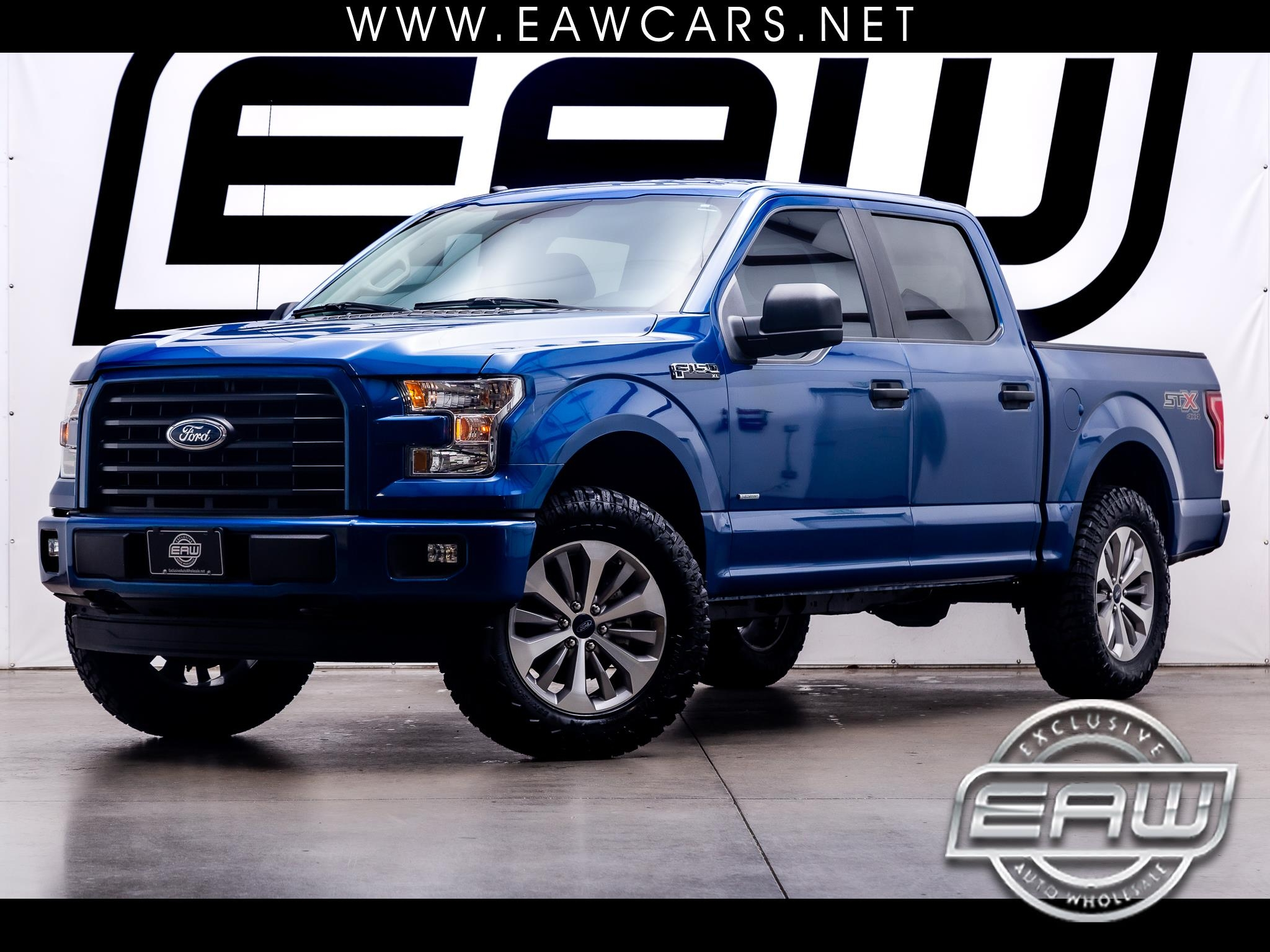 Ford F-150 STX SuperCrew 4WD 2017